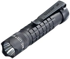 MagLite Mag-Tac LED Flashlight - Scalloped Head, Matte SG2LRA6