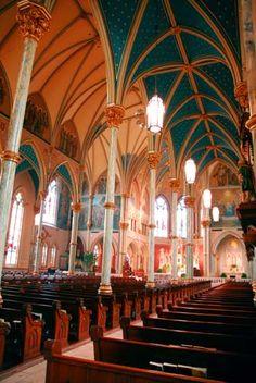 St. John Church (Interior)    St. John's Church in Savannah is a parish of the Episcopal Diocese of Georgia (Savannah Georgia)