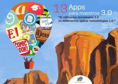 EL BLOG DE MANU VELASCO: 13 APPS PARA MAESTROS 3.0. No perderse tampoco las entradas anteriores sobre Apps.