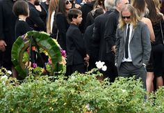 Jerry Cantrell attends funeral for Chris Cornell
