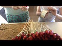 Букет из фруктов! - YouTube