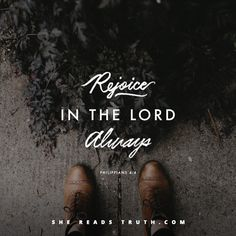 Being in Christ, we have every reason to rejoice - to offer grace instead of grumbling, to turn worry into prayers, and to hold tight to the gospel. Word Of Faith, Word Of God, He Reads Truth, I Love My Dad, Favorite Bible Verses, God Jesus, Good Thoughts, Bible Quotes, Bible Art