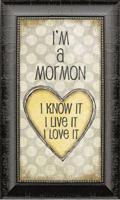 I'm a Mormon