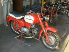 1964 Harley-Davidson Sprint build by Italian Manufactor Aermacchi's with 250ccm engine