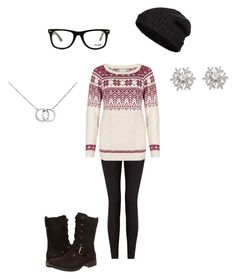 """""""Untitled #166"""" by mrs-grant-guston ❤ liked on Polyvore featuring Lyssé Leggings, UGG Australia, Blue Nile, GlassesUSA, Chopard and Closed"""