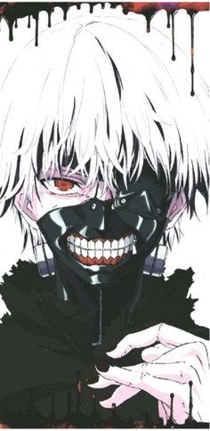Tokyo Ghoul Anime Maske Mask Ken Kaneki Cosplay Kostüm Gesichtmaske Halloween