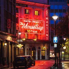 London, Agatha Christie's The Mousetrap at the Martins Theatre | Flickr - Photo Sharing!