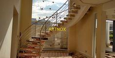 BLOG DO CORRIMÃO INOX: CORRIMÃO INOX 4 TUBINHOS ESCADA CURVA DESCRIÇÃO DO PROJETO Opção 1: Corrimãos para escada redonda em tubos redondos de aço Inox 304 escovado ou polido, sendo Tubo Superior de...