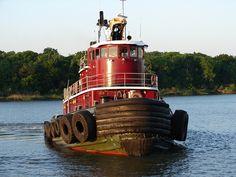 tugboat in Georgia