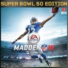 MADDEN NFL 16 - Super Bowl Edition http://www.lavahotdeals.com/ca/cheap/madden-nfl-16-super-bowl-edition/65059