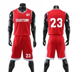 e2f76b37ed1 Custom Name + Number Kids & Adult College Basketball Jerseys USA Throwback Basketball  Jersey Youth Cheap