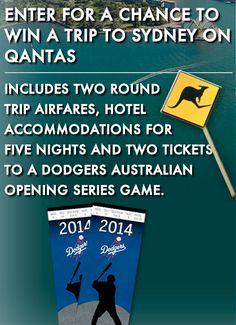 Win A Trip To Sydney + Tix To L.A. Dodgers Australia Series - Michael W Travels...