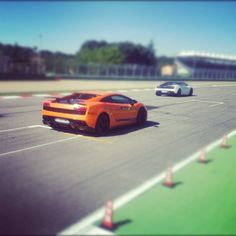 Lamborghini: almost too fast to catch on camera - Instagram by @bethanyrydmark