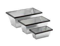 Set of 3 Classy and Trendy Metal Planters >>> Click on the image for additional details.