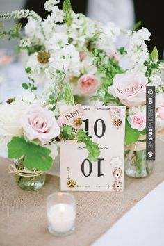So cool! - sweet pink + white centerpieces   Lauren Larsen   CHECK OUT MORE GREAT PINK WEDDING IDEAS AT WEDDINGPINS.NET   #weddings #wedding #pink #pinkwedding #thecolorpink #events #forweddings #ilovepink #purple #fire #bright #hot #love #romance #valentines #pinky
