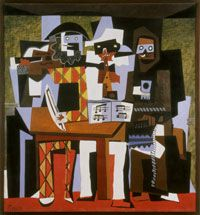 Three Musicians, by Pablo Picasso, awaits your visit to the Philadelphia Museum of Art.