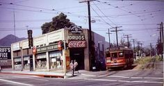 Fairfax & Santa Monica blvd 1950