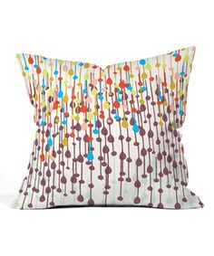 Love this Candy Chandelier Throw Pillow by DENY Designs on #zulily! #zulilyfinds