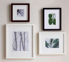 Gallery Style Picture Frames