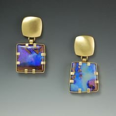 Chamblin Design, Jewelry By Collection: August: Love the blue and gold, it makes your skin look young.