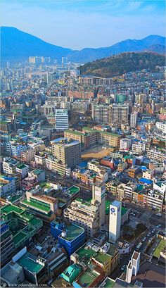 Busan, South Korea - How many roof-top tennis courts does one city need?