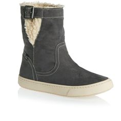 Roxy Boots - Roxy Blake Mid Boots - Charcoal