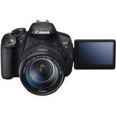 Canon Black EOS Rebel T5i Digital SLR Camera