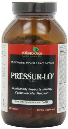 Futurebiotics PressurLo Tablets 270Count ** You can find out more details at the link of the image. (This is an affiliate link)
