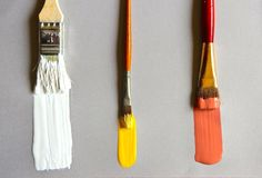 Picture of 3 Ways to Clean Paint Brushes