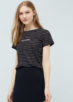 T-shirt coton modal -  Femme | OUTLET France
