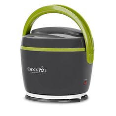 The Crock-Pot® Lunch Crock® Food Warmer is a lunch tote and food warmer in one that warms while you work! Plus, its available in trendy colors, like grey & lime. Get yours today. #CrockPot #SlowCooker #LunchCrock