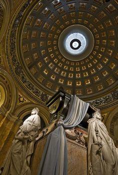 Catedral metropolitana de Buenos Aires. Tumba del Gral. Don José de San Martín, libertador de Argentina, Chile y Perú.