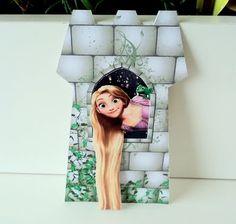 Papeliê - Papel em Festa (Blog): Rapunzel ( Enrolados ) - Convite e Lembrancinha