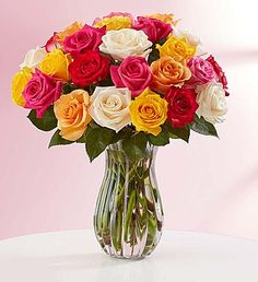 Assorted Roses: Buy 12, Get 12 Free + Free Vase, just $39.99! | Get FREE Samples by Mail | Free Stuff
