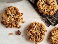 Unsuz ve şekersiz kurabiye Granola Bars, Dog Food Recipes, Cereal, Almond, Cooking, Breakfast, Drink, Cuisine, Kitchen