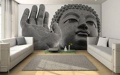 Cómo decorar paredes con Buda