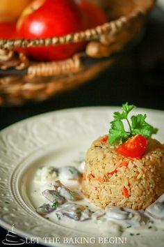 Simple Fried Rice - LetTheBakingBeginBlog.com   @Letthebakingbgn