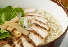 Genuine Wagamama chicken ramen recipe ///RESULT: lovely. Just what I wanted. In regular rotation at Casa de Collington.