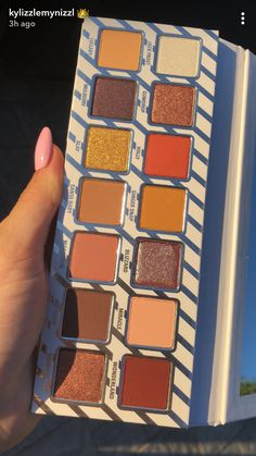 The Nice Pallette from Kylie 🎁 Gorgeous Makeup, Love Makeup, Makeup Inspo, Makeup Inspiration, Skin Makeup, Eyeshadow Makeup, Makeup Cosmetics, Eyeshadows, Eyeshadow Palette