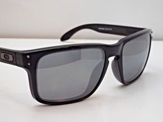 4dd0f2bc891 Authentic Oakley Holbrook OO9102-62 Matte Black Iridium Polarizd Sunglasses   225  fashion  clothing  shoes  accessories  mensaccessories ...