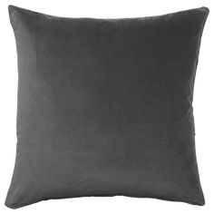 SANELA Cushion cover - dark gray - IKEA