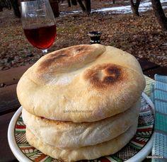Baby Food Recipes, Cookie Recipes, Dessert Recipes, Cooking Bread, Bread Baking, Pita, Good Food, Yummy Food, Romanian Food