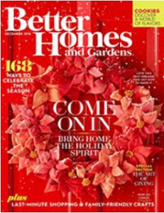 FREE Subscription to Better Homes and Gardens Magazine on http://hunt4freebies.com