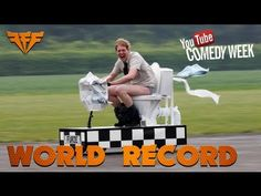 Backyard inventor Colin Furze has been working late into the night to build a toilet which is set to break the Guinness World Record for the world's fastest . Colin Furze, Street Performance, Weird News, Guinness World, Bathroom Humor, Great Videos, World Records, Work Humor, Live Long