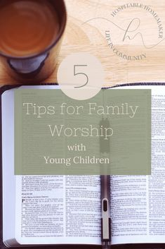 5 Tips for Family Devotions with Toddlers and Preschoolers. It's possible, I promise! Parenting Toddlers, Parenting Advice, Raising Godly Children, Young Children, Raising Kids, Christian Parenting Books, I Need Jesus, Family Bonding, Christian Families