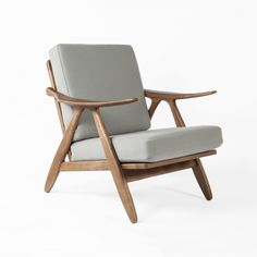 Mid Century Modern Karla Lounge Chair - Grey