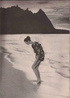 HARPER'S BAZAAR JANUARY 1959 Carmen Dell'Orefice