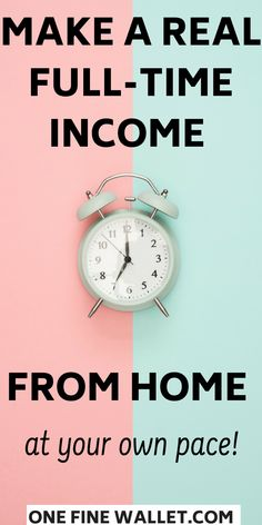 Learn to make a full time income from home! work from home jobs for moms, with a busy life and need a side hustle to make extra money online #makemoneyonline #sidehustles #workfromhome #workfromhomejobs