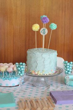 Best Kids Parties: Polka Dots My Party - Name: Stella (4)  Location: Salt Lake City, UT    Stella wanted a POLKA DOT theme. Once I found an outfit, I based the color palette around it and planned the invite, food, cake, decor and favors