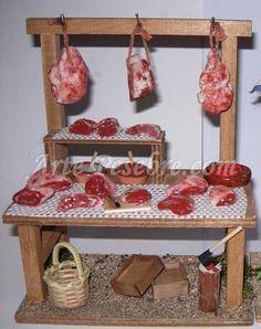 Accessoires Barbie, Vitrine Miniature, Christmas Nativity Scene, Ceramic Houses, Fairy Garden Accessories, Mini Things, Creepy Dolls, Miniature Food, Christmas Projects